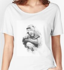 Protected_b&w Women's Relaxed Fit T-Shirt