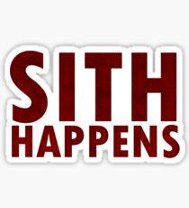 Sith Happens Sticker