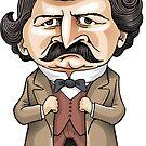 Louis Riel by MacKaycartoons