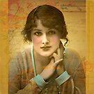 Vintage Girl by Jerri Johnson