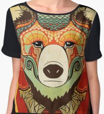The Bear Chiffon Top