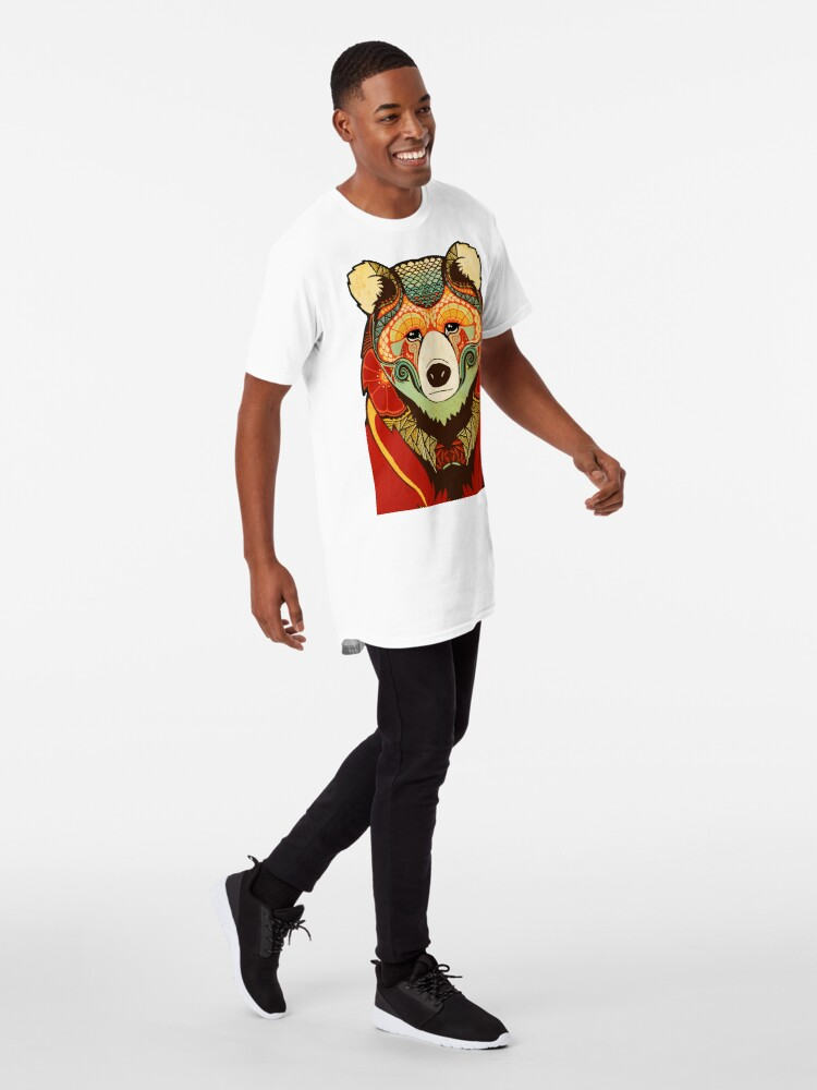 Alternative Ansicht von The Bear Longshirt
