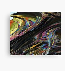 In The Mix Canvas Print