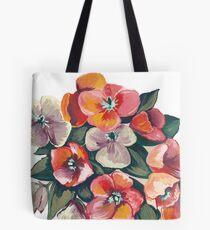Mohnblumen im Sommer Tasche