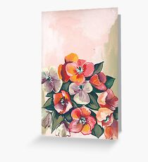 Poppies in Summer Greeting Card