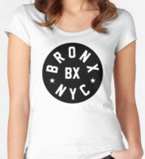 Bronx NYC Women's Fitted Scoop T-Shirt