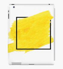 Yellow Border iPad Case/Skin