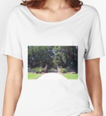 Entrance to Boone Plantation Women's Relaxed Fit T-Shirt