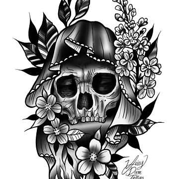 Don't fear the reaper  by KrissyTattoos03