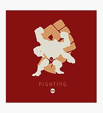 Pokemon Type - Fighting Photographic Print