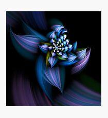 Fractal flower Photographic Print