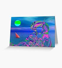 Exotic Dreams Greeting Card