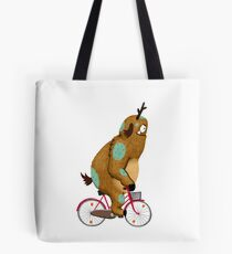 Bike Monster Tote Bag