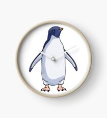 Adélie Penguin Clock