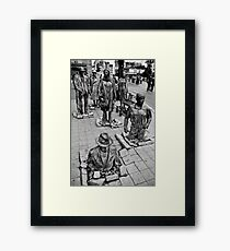 Anonymous Pedestrians 1 Framed Print
