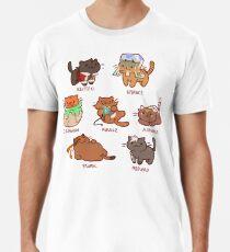 Form Nyaatron! Männer Premium T-Shirts