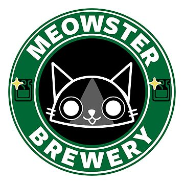 Meowster Brewery by misterpillows