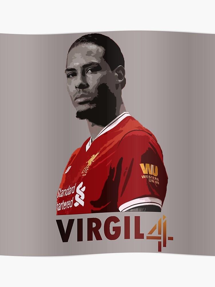 new concept f5e2c 8716a Virgil Van Dijk Liverpool | Poster