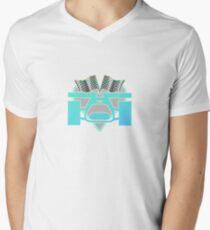 Racing Car Men's V-Neck T-Shirt