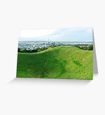 Mt Eden, Auckland, New Zealand Greeting Card