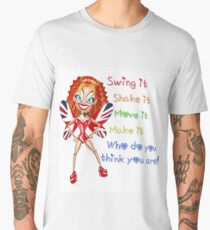 Ginger Spice, Viva Forever Fairy, Who do you think you are  Men's Premium T-Shirt