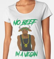 No Beef Women's Premium T-Shirt