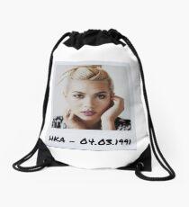 Hayley Kiyoko Polaroid Edit Drawstring Bag