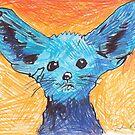 Blue Animal  by Juhan Rodrik