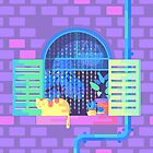 Windowsill Basking by badOdds