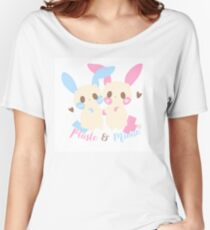 Plusle and Minun Women's Relaxed Fit T-Shirt