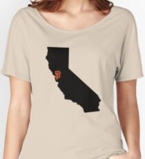 San Francisco Giants - California Women's Relaxed Fit T-Shirt