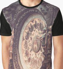 Prague astronomical clock Orloj Graphic T-Shirt