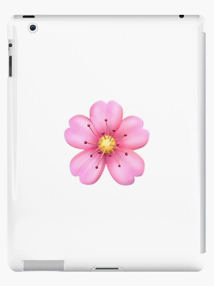 Pink Flower Emoji Ipad Cases Skins By Jerseyjules123 Redbubble