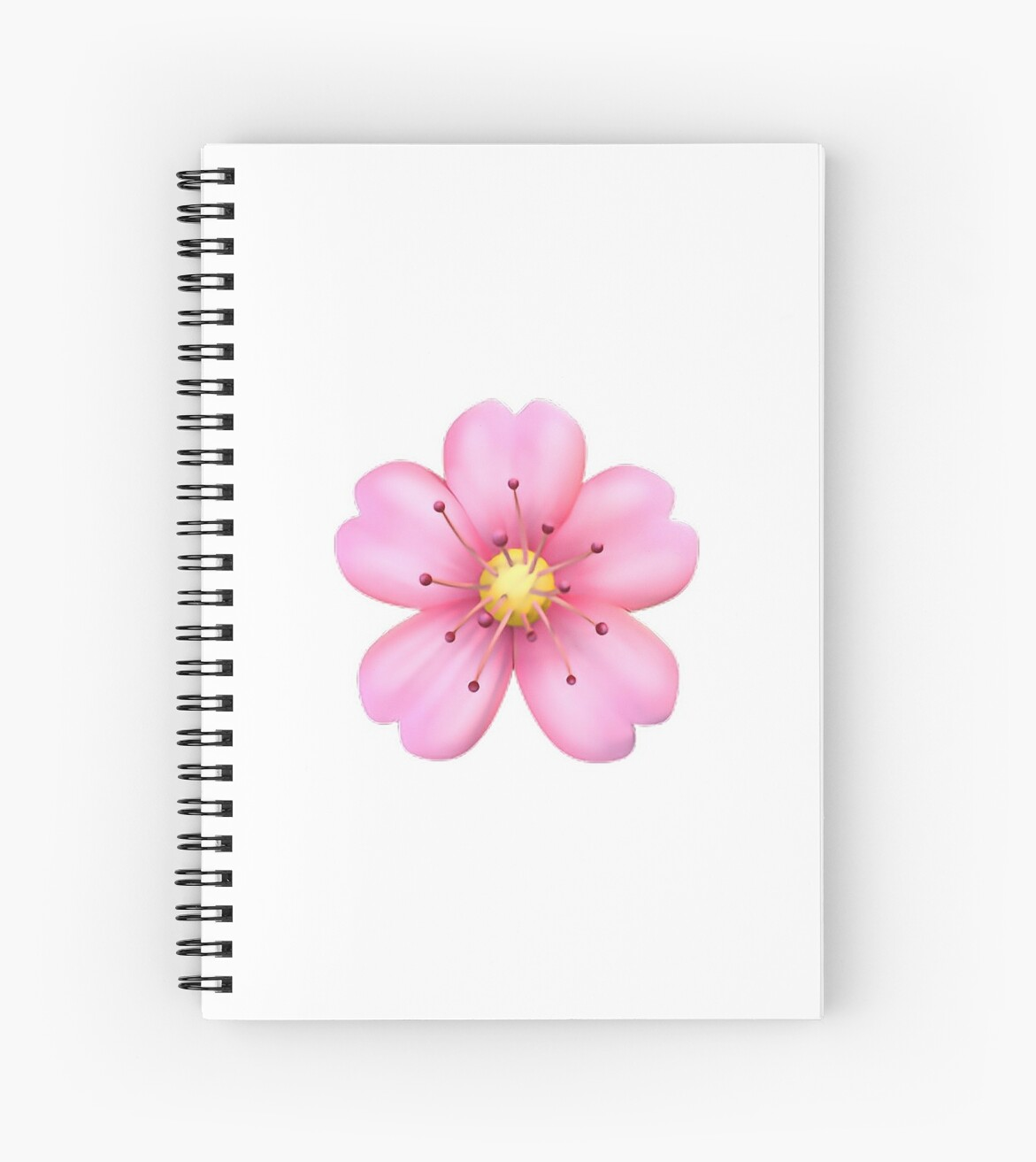 Pink flower emoji spiral notebooks by jerseyjules123 redbubble pink flower emoji by jerseyjules123 mightylinksfo