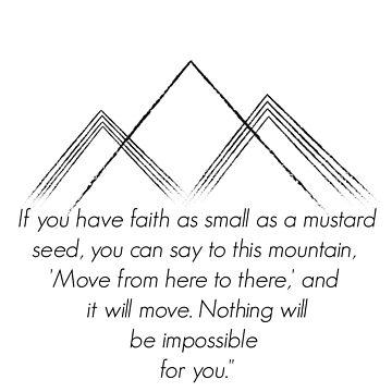 Matthew 17:20 by Bfiggins