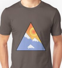 Snow and a Sunset Unisex T-Shirt