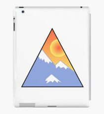 Snow and a Sunset iPad Case/Skin