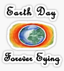 Earth day Forever eying Sticker