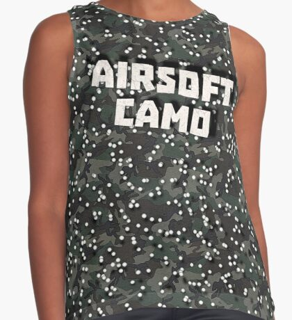 Airsoft Camo Contrast Tank