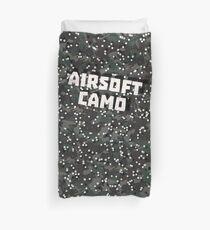 Airsoft Camo Duvet Cover