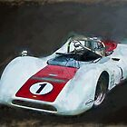 White Can-Am Lola T160 by Stuart Row