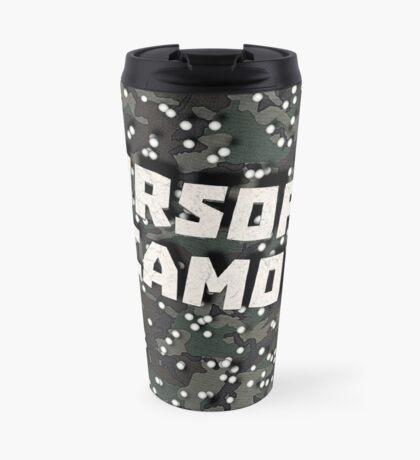 Airsoft Camo Travel Mug
