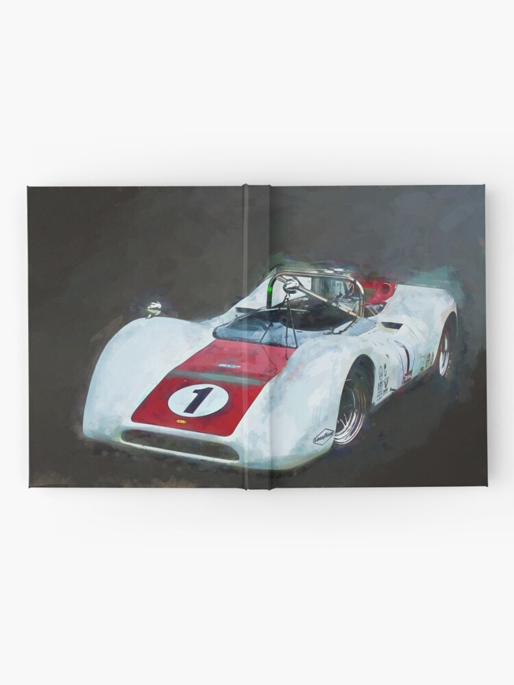 Alternate view of White Can-Am Lola T160 Hardcover Journal