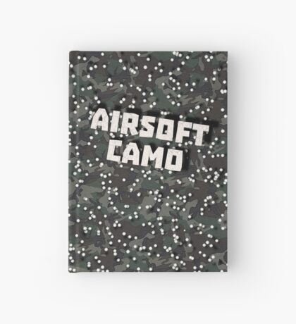 Airsoft Camo Hardcover Journal
