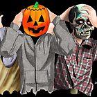Halloween Maske Trio von Luke Tomlinson