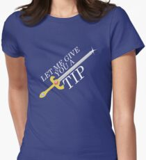 Let Me Give You a Tip - Super Smash Bros. [Fire Emblem] Womens Fitted T-Shirt