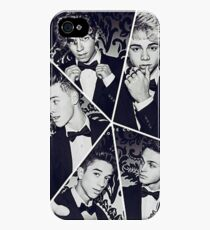 black and white collage iPhone 4s/4 Case