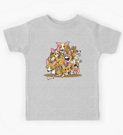Corgi Cluster Kids Clothes