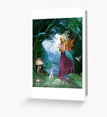 A Day In The Forest... Greeting Card