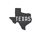 Texas Map by Edward Fielding